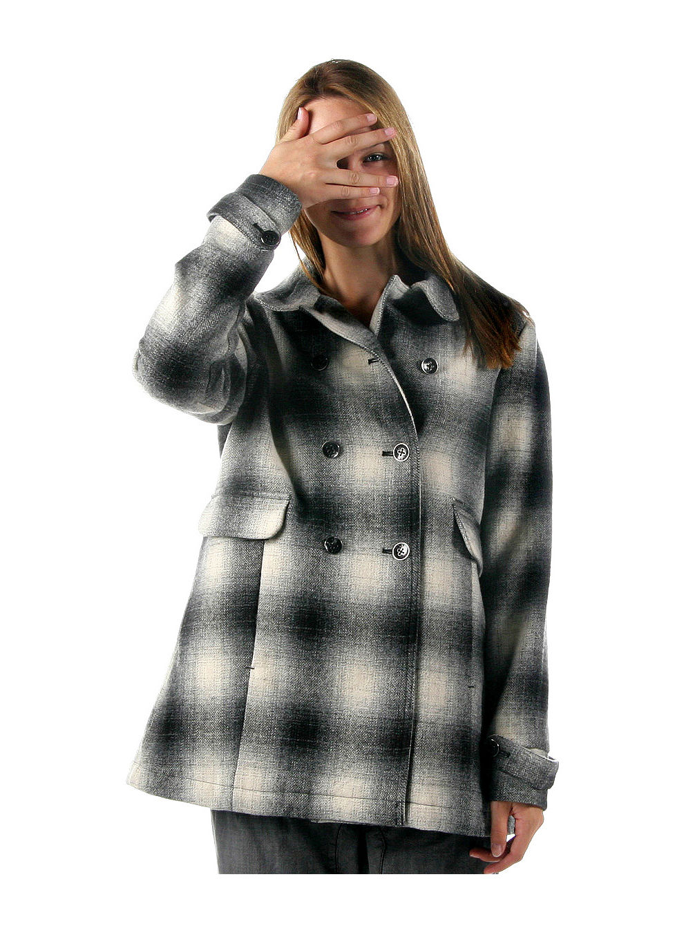 Day N'Nite Plaid Coat Women