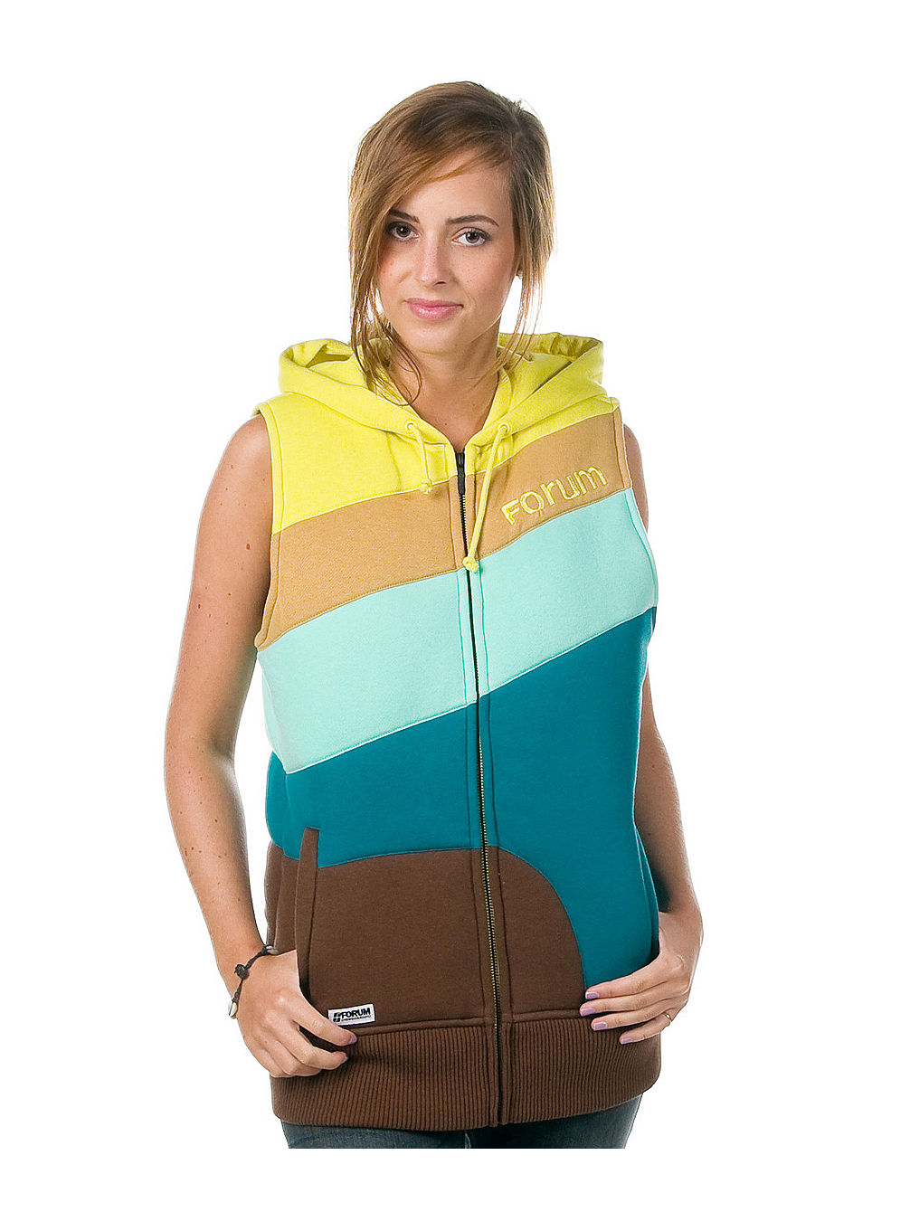 Cosmo Hooded Vest Women