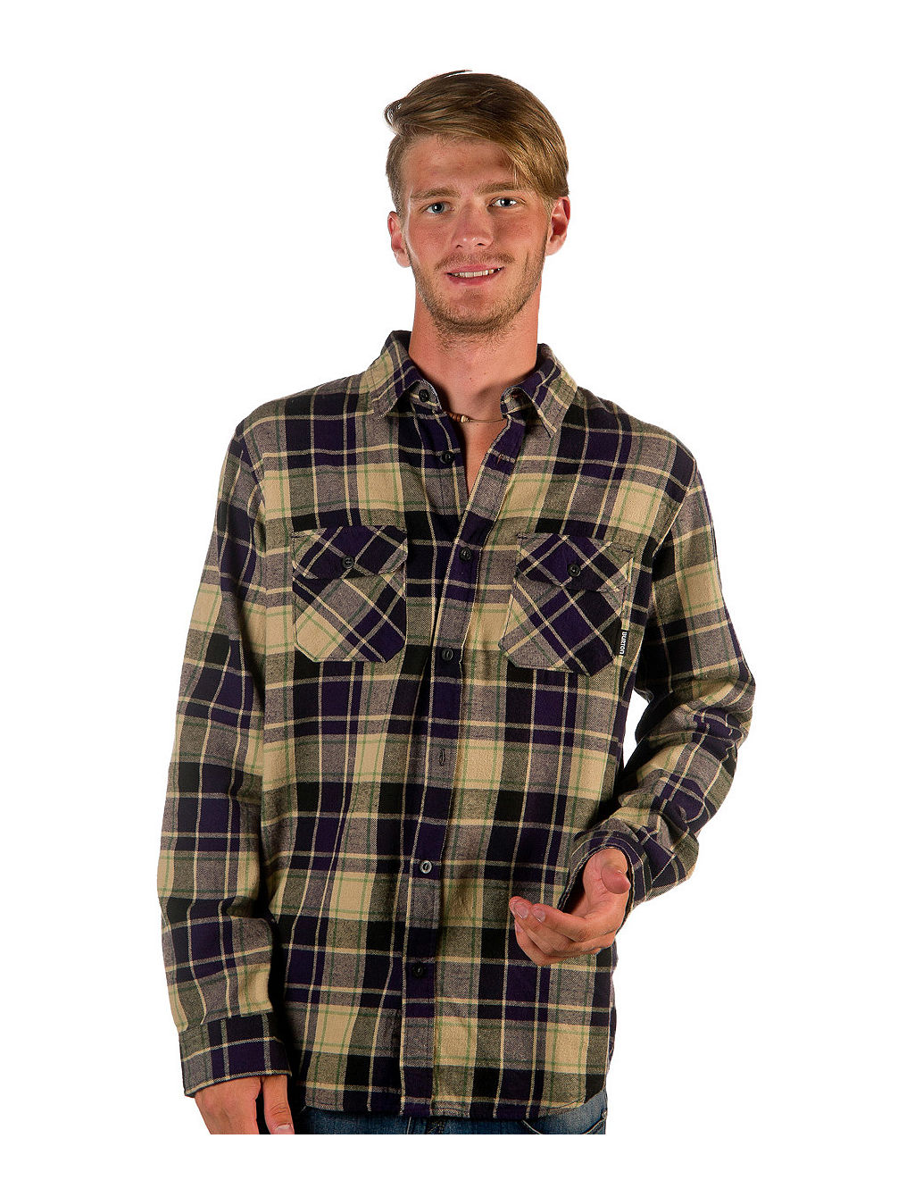Brighton Flannel LS