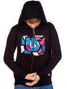 Sliced Full Zip Hood Youth
