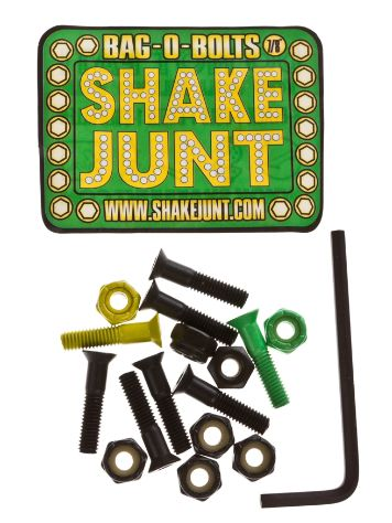 Shake Junt Bolt yellow Green 7/8