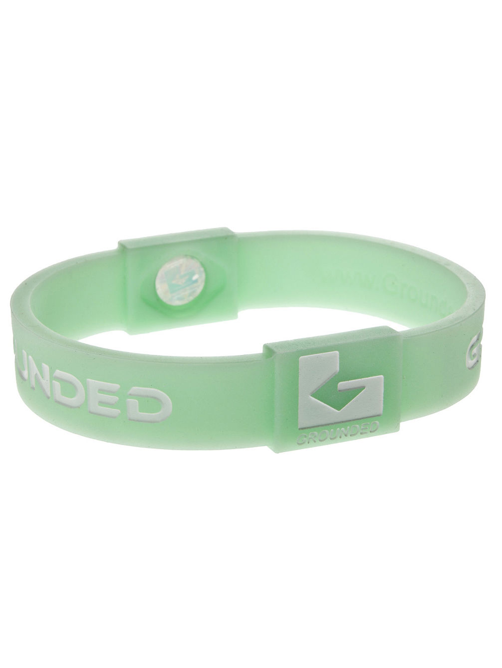 "Armband Silikon 6"" Glow in The Dark"