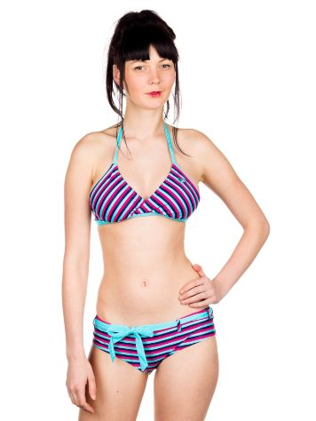 Roxy Regular Stripe Crossover Tri + Baja Shorty B
