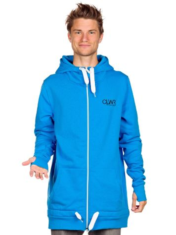 Colour Wear Long Zip Hoodie