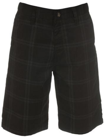 Volcom Frickin Plaid Shorts Boys