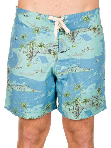 Lightning Bolt Printed Beach Pelican Boardshorts