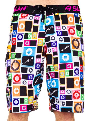 69 Slam MP3 Long Length Boardshorts