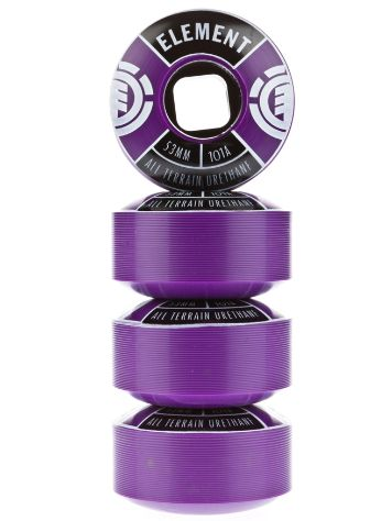 Element Divided Purple 53mm Wheels