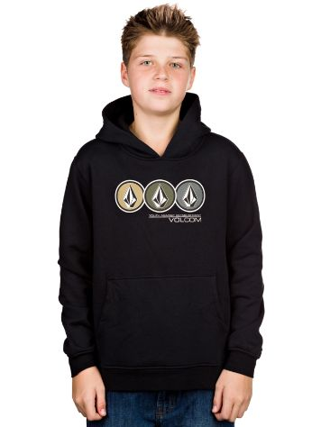 Volcom Lined Up Pullover Hoodie Boys