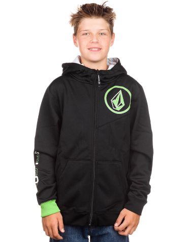 Volcom Darkside Fleece Zip Hoodie Boys