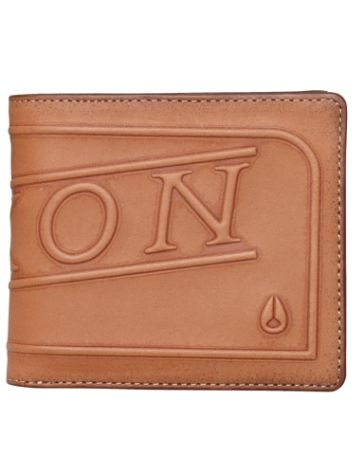 Nixon Labelled Bi-Fold Zip Coin Wallet