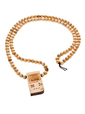 Wood Fellas Game Fella wheat Necklace