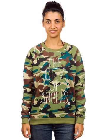 Element City Of Angel Camo Crew Sweater