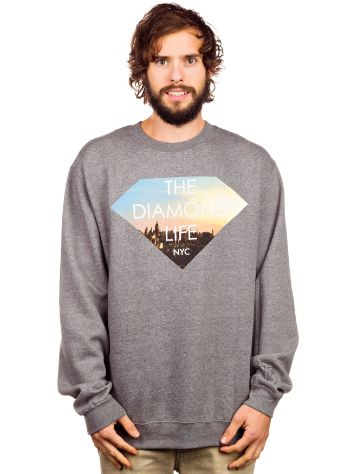 Diamond Diamond Life NYC Crew Neck Sweater