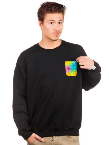akomplice Tye Dye Pocket Crew Sweater