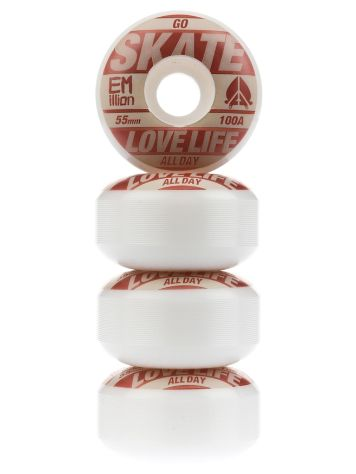 Go Skate Brown 55mm Wheels