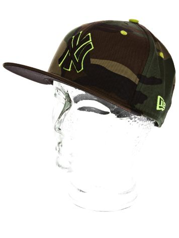 New Era NY Yankees Camo Pop Cap