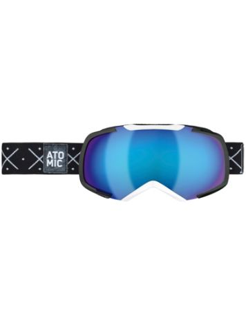 Atomic Revel S Black-White/Blue Mirror