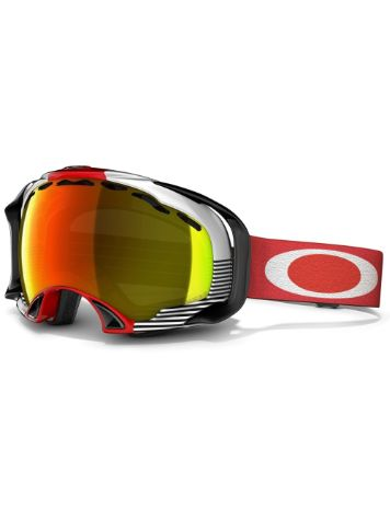 Oakley Splice Shaun White Block Stripes Red