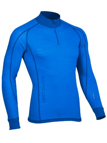 Ortovox Merino Supersoft Zip Neck Tech Tee LS