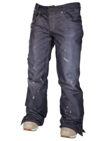 686 Reserved Destructed Denim Pants