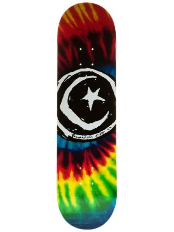 Foundation Star and Moon Tie Dye 8.25