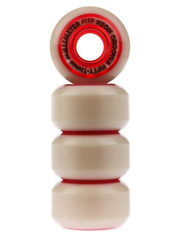 Neon Grooves Red 53mm