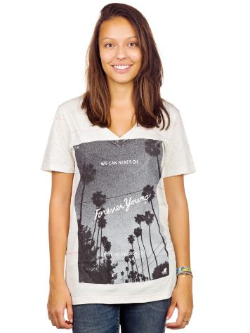 Glamour Kills We can Never Die V Neck T-Shirt