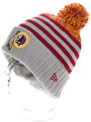 New Era Washington Redskins Snowfall Stripe Beanie
