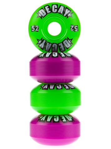 Logo Purple Lime Mash Up 52mm