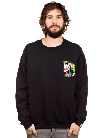 akomplice Flamingos + Tucans Crewneck Sweater