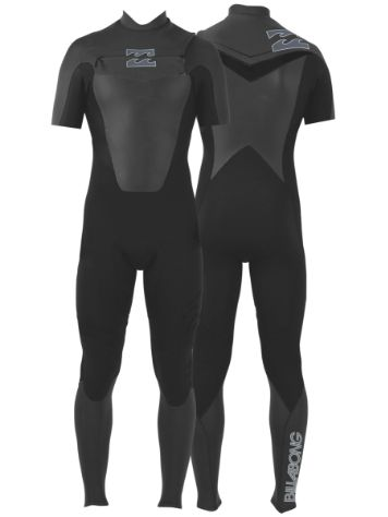 Billabong Foil Chest Zip Steamers 2mm Wetsuit