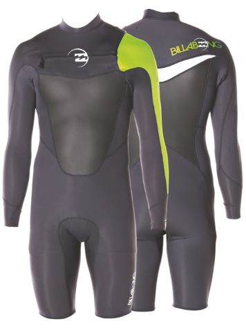 Billabong Foil Chest Zip Spring 2mm LS Wetsuit