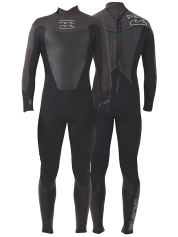 Billabong Foil Back Zip Steamers 3/2mm LS Wetsuit