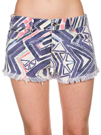 Roxy Breaking Printed Shorts