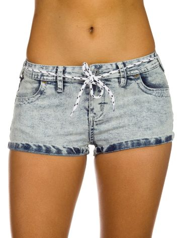Iriedaily Skinny Denim Shorts