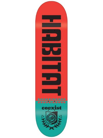 Habitat Wreath Shield Logo 8.5 Deck