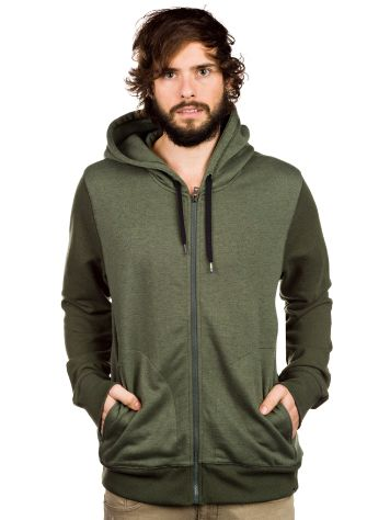 Hurley Retreat Mix Zip Hoodie