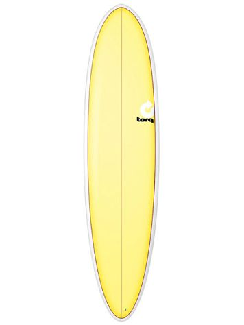 Torq Epoxy 7.6 Funboard Yellow