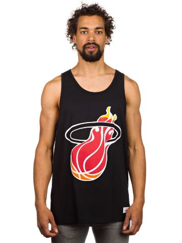 Mitchell & Ness Team Logo Miami Heat Tank Top