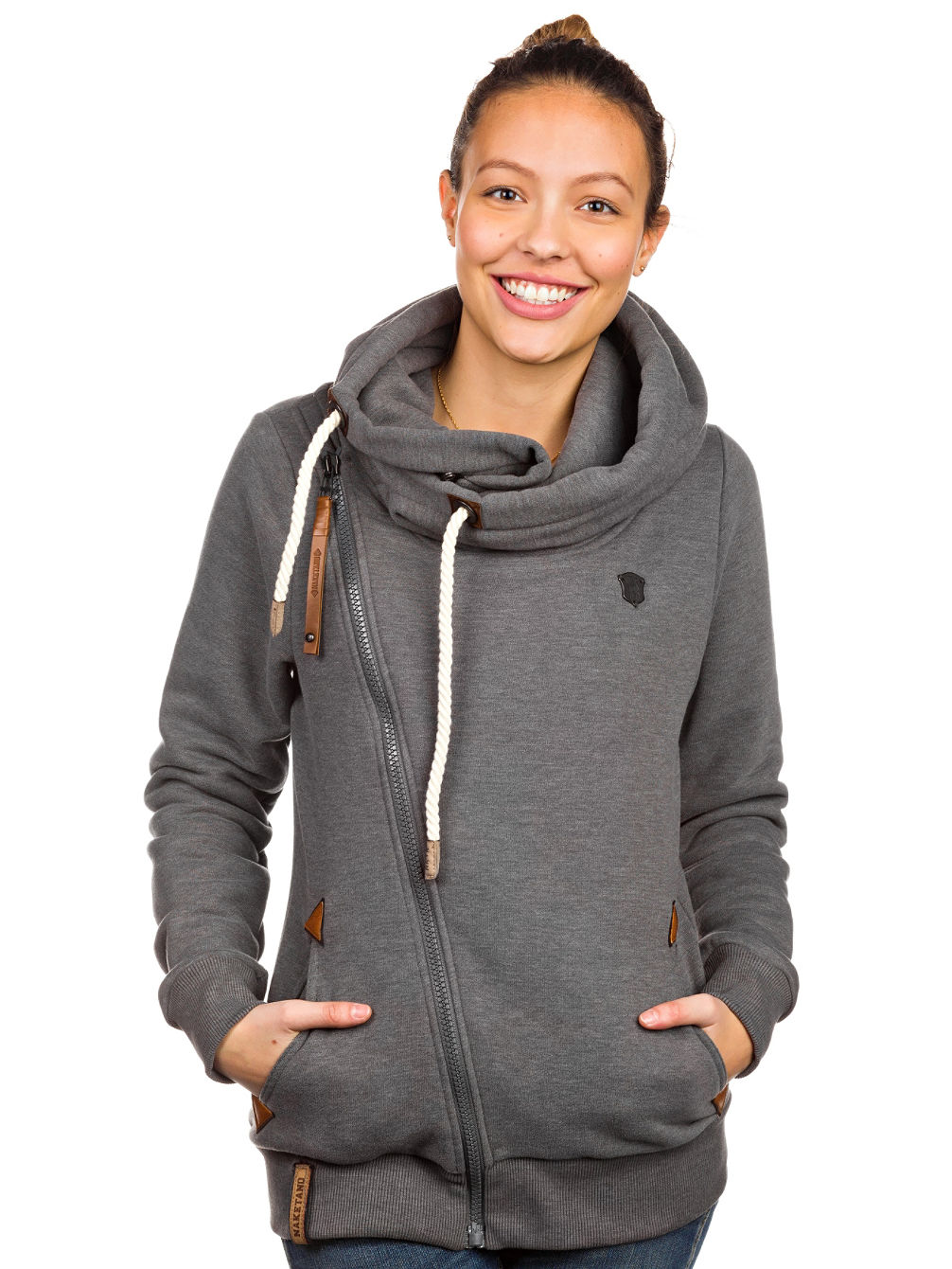 buy naketano family biz zip hoodie online at blue. Black Bedroom Furniture Sets. Home Design Ideas