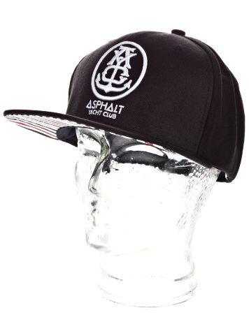 Asphalt Yacht Club Ayc Anchor Solid Snap Back Cap