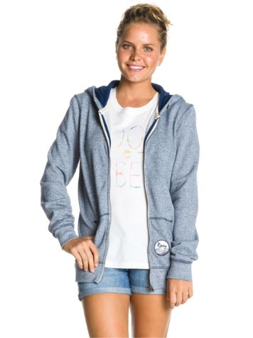 Roxy Friendly Heather Zip Hoodie