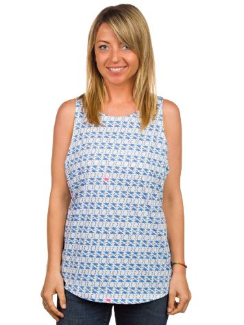 Blue Tomato All Over Flamingo Tank Top