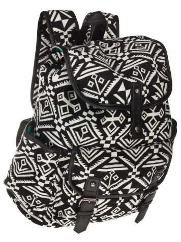 Empyre Girls Black White Tribal Backpack