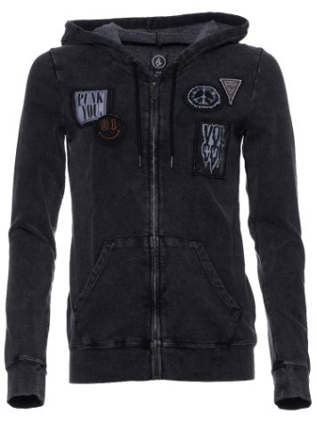 Volcom Patch It Thru Zip Hoodie