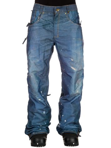 686 Parklan Destructed Denim Insulated Pants