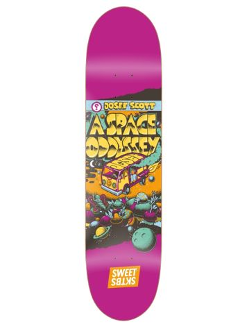 "SWEET SKTBS Spaced Out Scott 8.5"" Skateboard Deck"