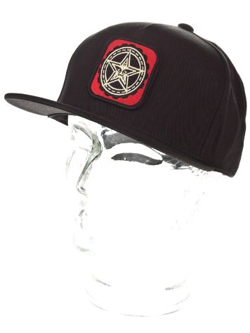 Obey Star Patch Snapback Cap