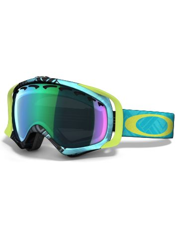 Oakley Crowbar Braded Blue Lime